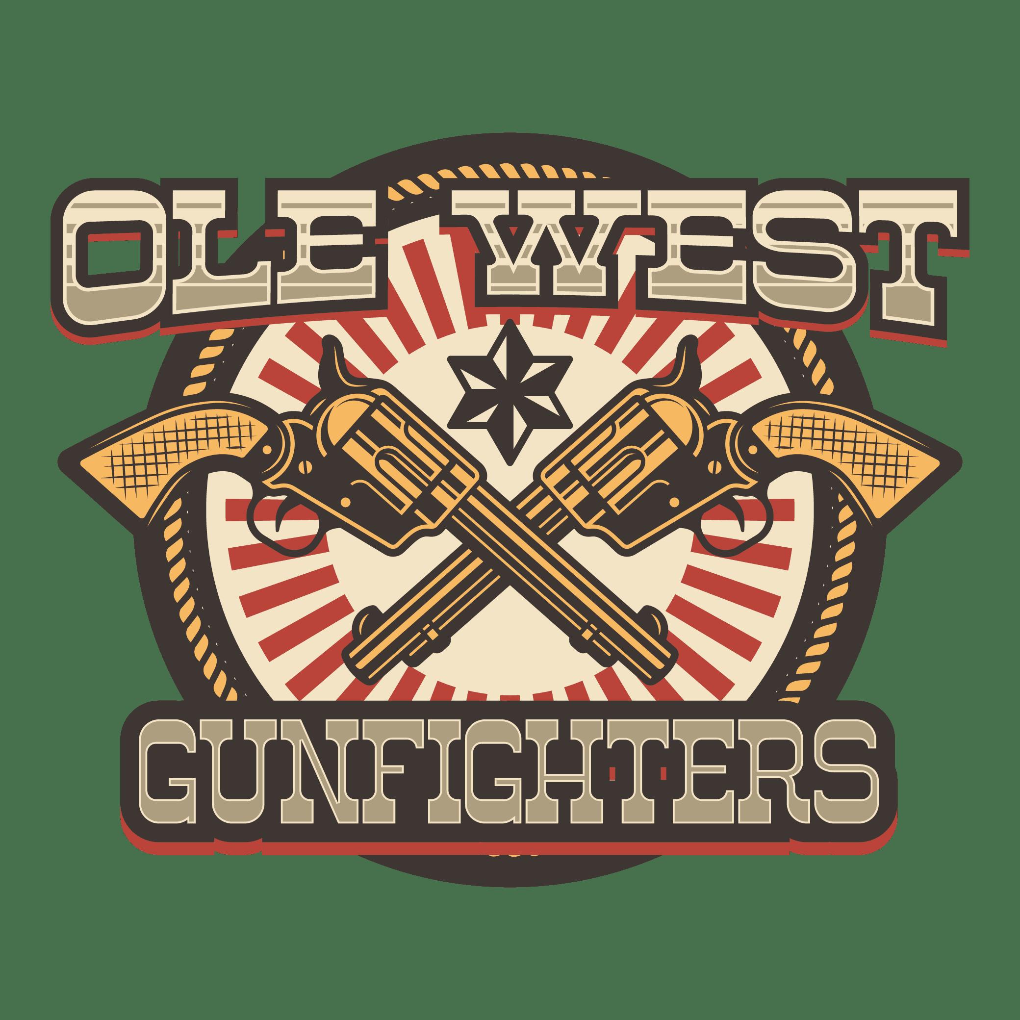 Ole West Gunfighters logo